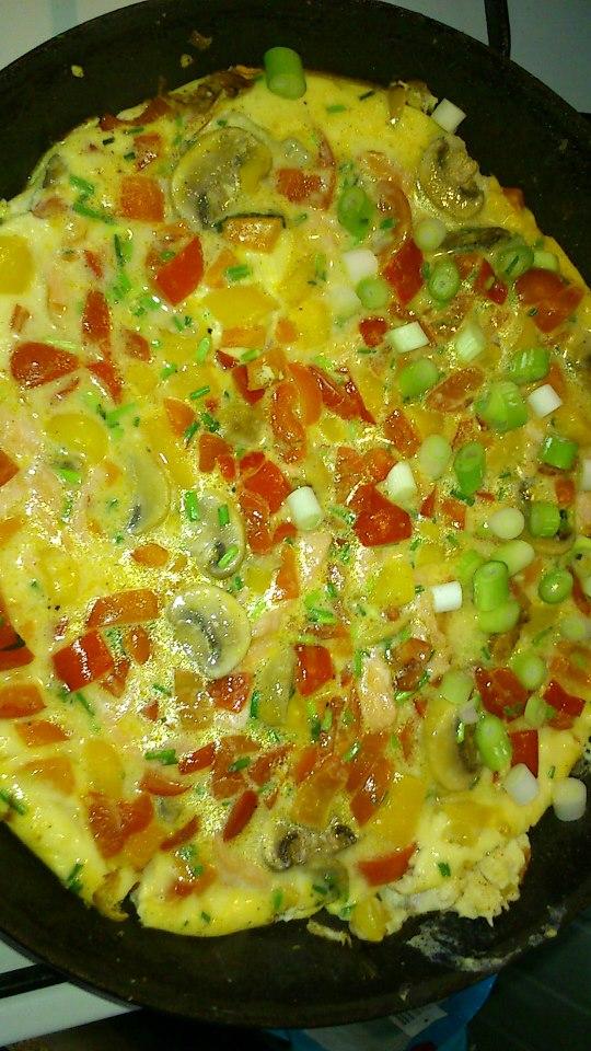 moniques boeren vega omelet