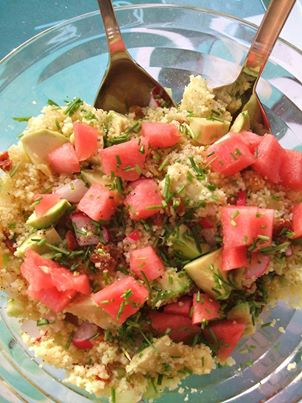 Erika's couscous salade