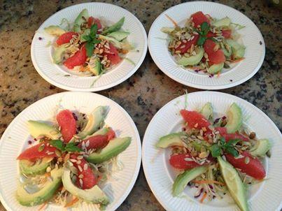 Carolines avocado salade