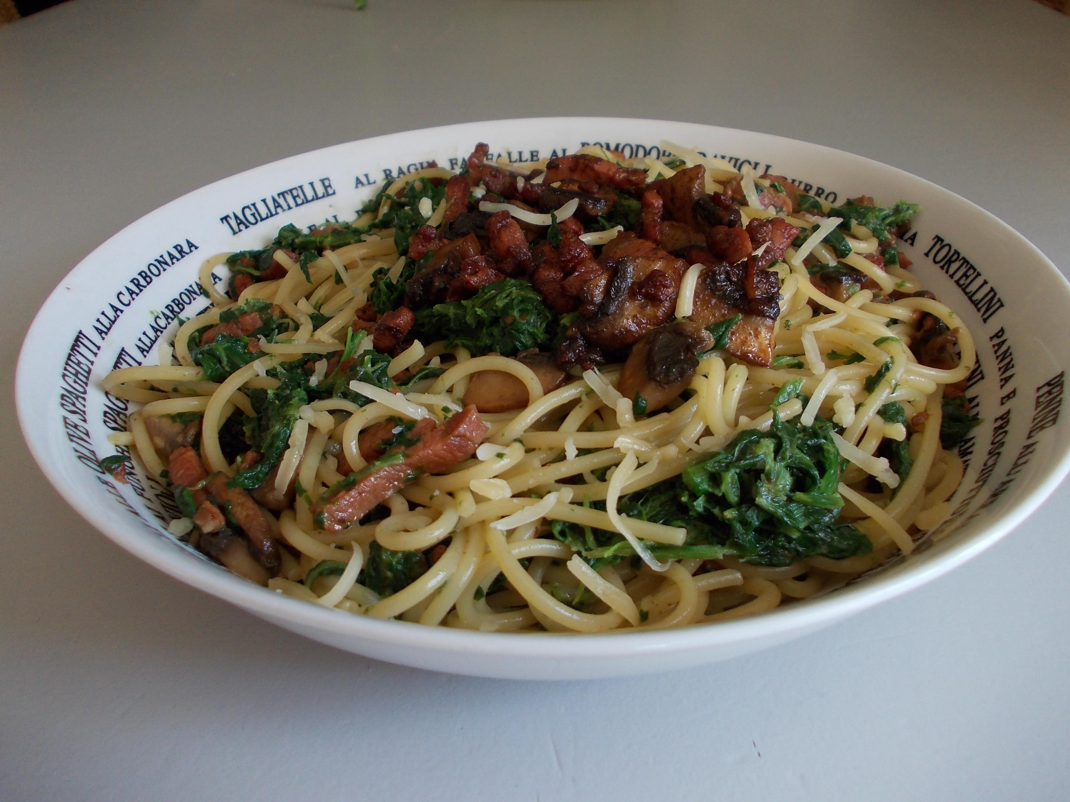 sandra spaghetti a la bloeb