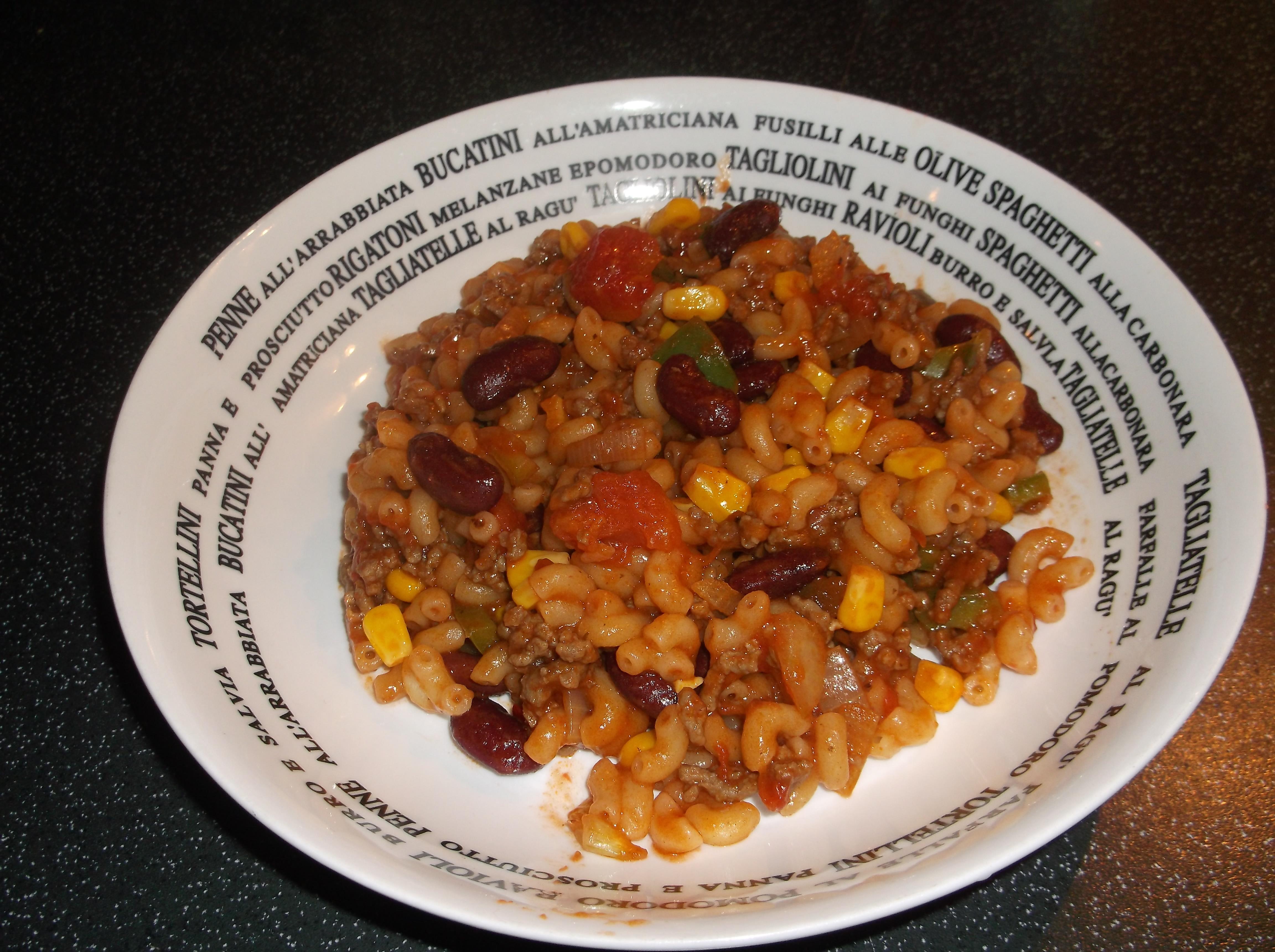 sandraas mexicaanse pasta