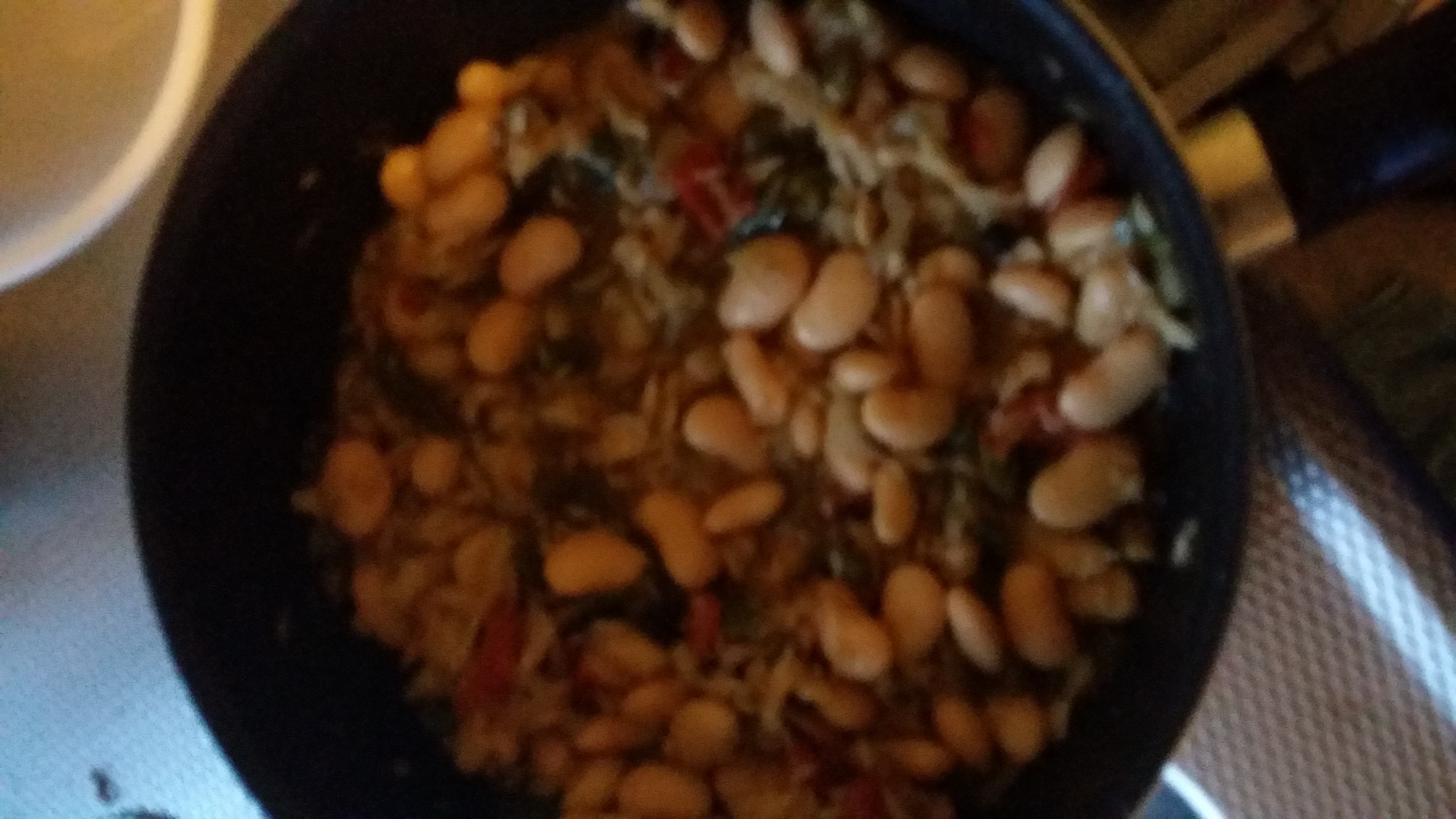 isaas saltfish and butterbeans