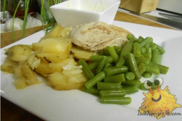 Linda en Sergio's Gebraden Kip Met Aardappelen